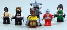 LEGO Secret Six   by daarkanjel Lego Dc, Lego Marvel, King Shark, Deadshot, Custom Lego, Lego Stuff, Lego Creations, Bane, Starwars