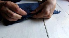 Comment coudre un point droit à la main