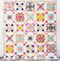 wallflower quilt kit designed by janice ryan