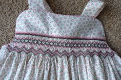 a few thoughts on faith, family, friends and adventures in stitching! Smocking Plates, Smocking Patterns, Kids Dress Wear, Baby Dress, Sewing For Kids, Baby Sewing, Girls Smocked Dresses, Smocks, Smoking