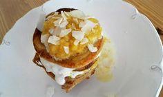 Lívance z acidofilního mléka Pancakes, Breakfast, Food, Morning Coffee, Essen, Pancake, Meals, Yemek, Eten