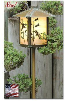 Hummingbird Garden Lantern Bottom Arm - LED – Welcome to Yardify