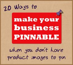20 Ways to Make your Service Business More Pinnable #workfromhome #smbiz #pinterestTips #tips