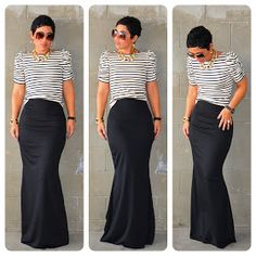 Fashion, Lifestyle, and DIY: #DIY Fishtail Maxi + #DIY Puff Sleeve Top + Pattern Review B5562