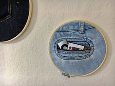 30 ways to transform your old jeans.Cut the pockets off your old jeans to create these BRILLIANT ideas! Your old jeans never looked so good.
