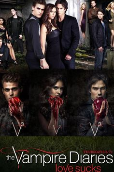 "i find it INCREDIBLY clever and ironic that Elena is holding a pomegranate and in the story of Persephone, she became bound the ""devil"" (Hades) after eating a pomegranate... and she's in love with two ""demons""... hmm..."