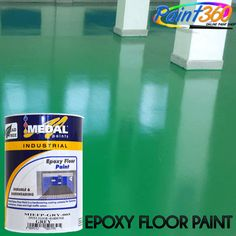 Paint 360 Epoxy Floor Paint is a high-quality, dual-pack paint suitable to protect any concrete floor.