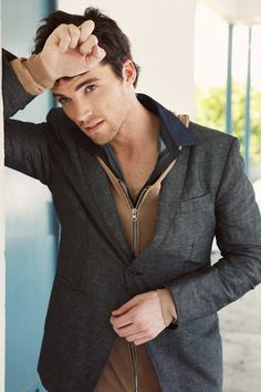 Ian Harding (aka Mr. Fitz from Pretty Little Liars)- He just makes us want to sin that much more. Oh, if he was a real teacher... I'd fail his class over and over
