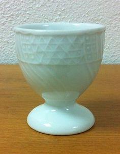 Hutschenreuther Dresden weiß - Eierbecher auf Fuß 5,5cm #eggcup