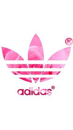 adidas, background, header, pink, pink rose, rose, wallpaper, iphone background, whatsapp background, adidas wallpaper