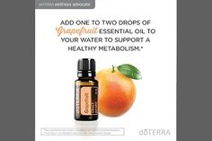 doTerra Social Media Oil Uses - Grapefruit