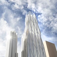 Plans unveiled for the skyscraper duo that will be built in San Francisco: http://bit.ly/1lwtpdM #BayArea #engineering | via Dezeen Magazine