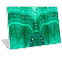 Malachite Laptop Skin by lightningseeds® for crystalapertures.rocks.