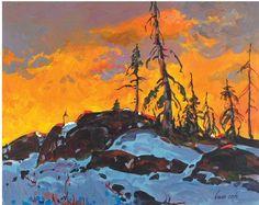 Bruno Cote - ) Canada, browse auction price, Auction sales stats, Art auction sales charts for Bruno Cote artist on BidtoArt Canadian Painters, Canadian Artists, Images D'art, Bruno, Snow Scenes, Winter Art, Landscape Paintings, Landscapes, Art Pictures