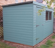 1.8 x 3.0m Classic Pent Shed