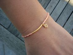 My new bracelet !  - Tiny  Hamsa Bracelet