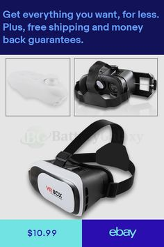 096b404bfa53 Virtual Reality VR Glasses Headset Helmet Bluetooth for LG G