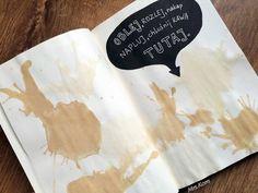 Podesłała Kornelia Konieczna #zniszcztendziennikwszedzie #zniszcztendziennik #kerismith #wreckthisjournal #book #ksiazka #KreatywnaDestrukcja #DIY
