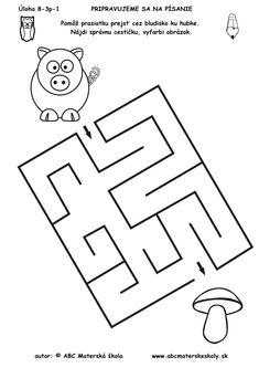 grafomotorické listy pre 3 ročné deti - Hľadať Googlom