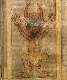 Leviathan. Codex Gigas (XIII c.)