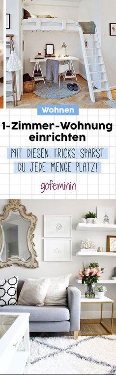 Einzimmerwohnung einrichten: Die besten Tipps & Tricks