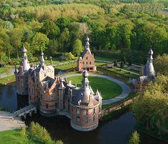 Kasteel van Ooidonk (Ooidonk Castle), Deinze, East Flanders, Belgium.