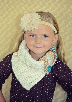 The Aspen Cowl - crochet made to order - used The Velvet Acorn pattern