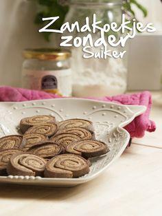 Francesca Kookt review kokosbloesemsuiker met een (geraffineerd) suikervrij recept van zandkoekjes.