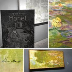 Seitdem wir unser erstes Buch über den Garten des Malers Monet gekauft haben, ist JULIE ein großer Fan. Albertina Wien. #albertina #monet #exhibition #vienna #austria #impressionismus #kunst #art