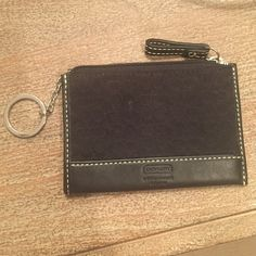 Coach keychain wallet Perfect for carrying just what you need! Coach Bags Clutches & Wristlets