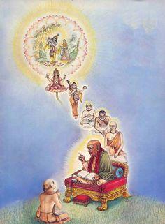 Dandavats | Srila Prabhupada and