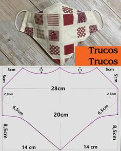 Small Sewing Projects, Sewing Hacks, Sewing Tutorials, Sewing Crafts, Easy Face Masks, Diy Face Mask, Dress Sewing Patterns, Sewing Patterns Free, Sewing To Sell