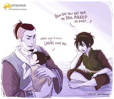 Sokka and Toph is basically my favorite ship ever.     Esteemed: The Magic Touch by ~tissine on deviantART