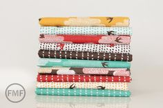 Fat Quarter Bundle Up Up and Away 10 Pieces by FreshModernFabric, $35.00