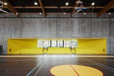 Galeria de Escola Secundária e Centro Cultural Moulins / Chartier Dalix…