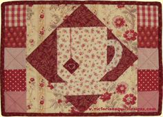 Let's Have a Cuppa! Tea Mat Quilt Pattern