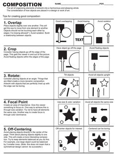 examples of S shaped visual art composition - - Yahoo Image Search Results Middle School Art, Art School, Drawing Lessons, Art Lessons, Art History Lessons, Graphic Design Lessons, Art Handouts, Art Basics, Design Basics