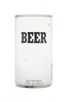 """i remember when this is what """"generic"""" brand actually looked like...and yes, the beer just said 'beer'...awesome"""