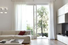 Salzburg, Real Estate, Ceiling Lights, Windows, Curtains, Lighting, Pretty, Lamps, Red