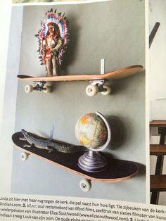 Skateboard planken