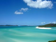 Australia - Whitsunday Islands - The beautiful view from Hill Inlet.