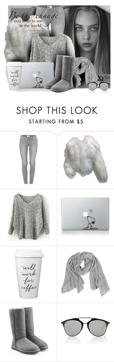 """""""be the"""" by sandevapetq ❤ liked on Polyvore featuring Paige Denim, Neiman Marcus, UGG Australia, Christian Dior, women's clothing, women, female, woman, misses and juniors"""