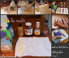 The Tightwad Try-Alls: DIY Laundry Stain Remover | Dollar Store Mom Frugal Fun – Crafts for Kids