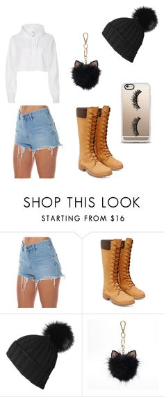 """""""girls night out!"""" by briebrie-diva on Polyvore featuring Wrangler, Timberland, River Island, Black, LC Lauren Conrad and Casetify"""