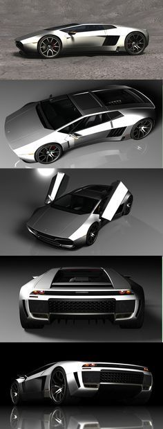 ♠️ The Mangusta Legacy concept is a reincarnation of the classic De Tomaso Mangusta supercar. The concept was developed by designer and illustrator Maxime de Keiser.