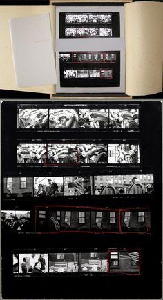Robert Frank: The Americans, 81 Contact Sheets, Limited Edition , Robert FRANK, KURAISHI, Shino - Rare & Contemporary Photography Books - Vi...