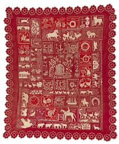 Misses Hampson active in Australia (early 20th century) The Westbury quilt (Sampler quilt) (c. 1900–03), cotton (embroidery, flannel and applique), 200.0 x 300.0 cm, courtesy National Gallery of Australia, Canberra Purchased through the Australian Textiles Fund 1990
