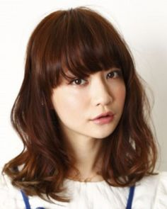 ゆるふわ♡セミディー|BRIDGE|(ブリッジ)|美容室・美容院 - ヘアカタログLucri(ラクリィ)|最新のヘアスタイル・髪型情報を紹介 Permed Hairstyles, Wedding Hairstyles, Asian Hairstyles, Layers And Bangs, Hair Arrange, Japanese Hairstyle, Mid Length Hair, Salon Style, Mi Long