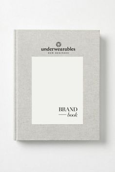 Underwearables Brand Book