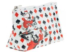DC Comics Harley Quinn Make Up Bag